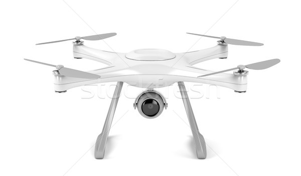 Drone on white background  Stock photo © magraphics
