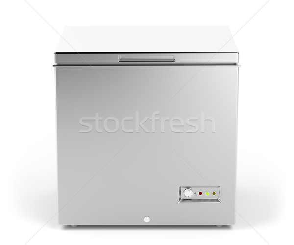 Small chest freezer Stock photo © magraphics