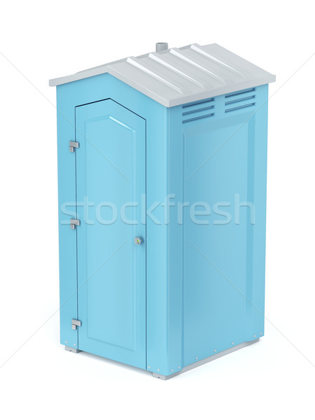 Portable chemical toilet Stock photo © magraphics