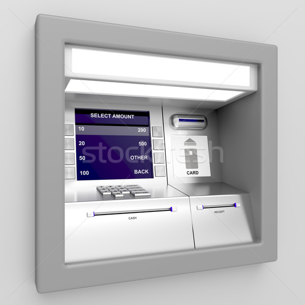 Automated teller machine Stock photo © magraphics