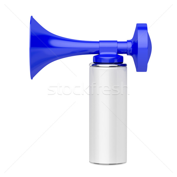 Portable air horn Stock photo © magraphics