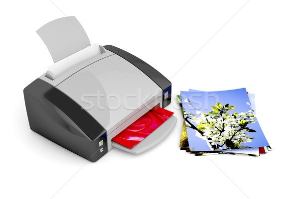 Photo printer Stock photo © magraphics