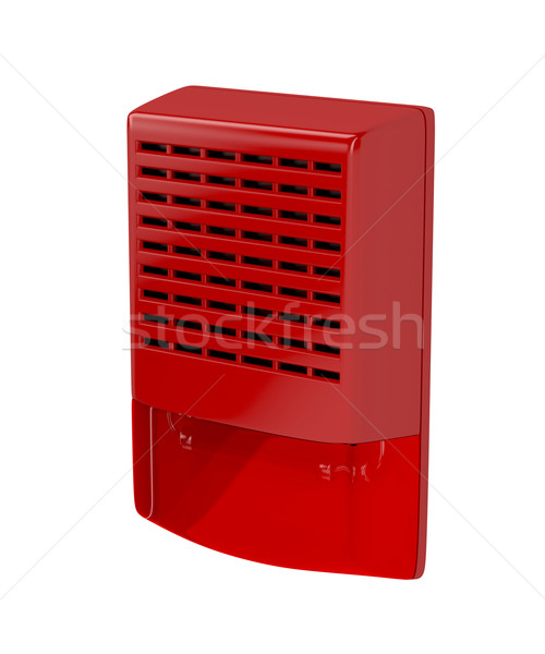 Fire alarm siren Stock photo © magraphics