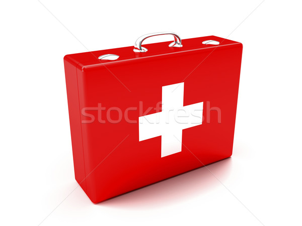 First aid kit Stock photo © magraphics