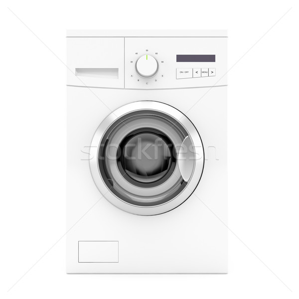Washing machine - front view Stock photo © magraphics