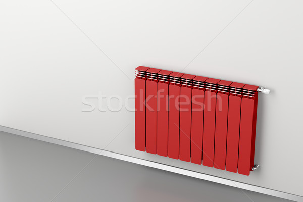 Red radiator Stock photo © magraphics