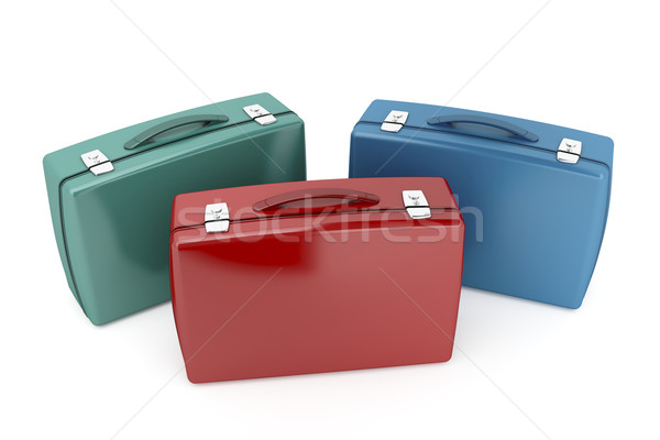 Briefcases Stock photo © magraphics