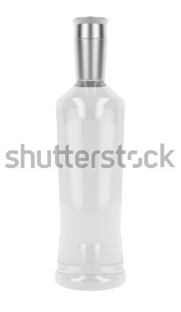 Vodka or gin bottle Stock photo © magraphics