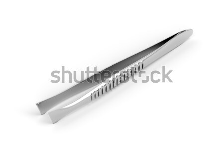 Eyebrow tweezers Stock photo © magraphics