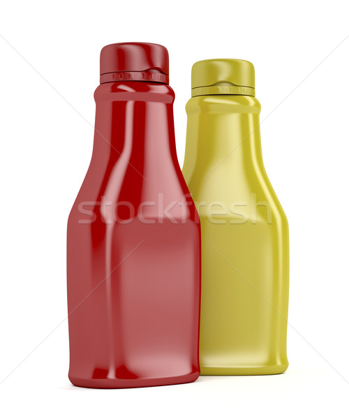 Ketchup and mustard Stock photo © magraphics