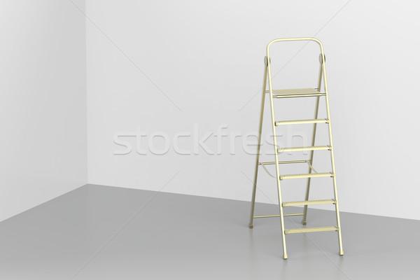 лестнице комнату строительство металл интерьер Сток-фото © magraphics