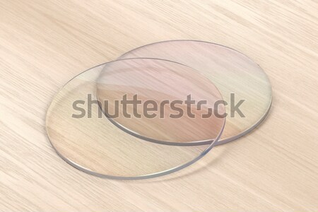 Pair of eyeglasses lens Stock photo © magraphics
