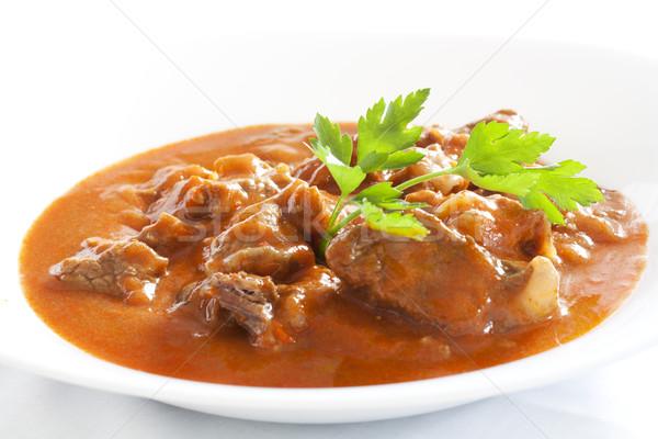 Hungarian goulash Stock photo © magraphics
