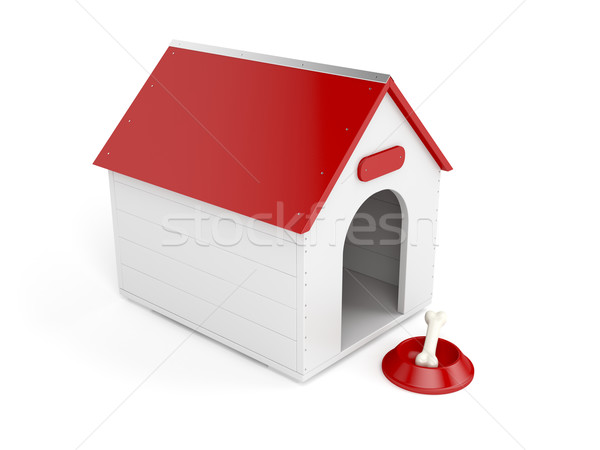 Doghouse Stock photo © magraphics