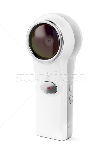 360 camera on white  Stock photo © magraphics