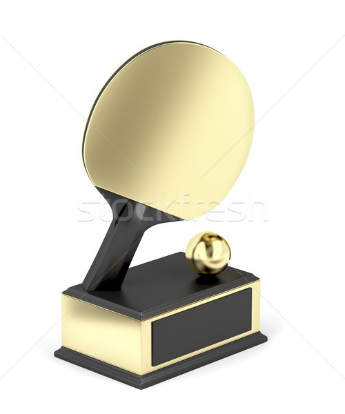 Table tennis trophy Stock photo © magraphics