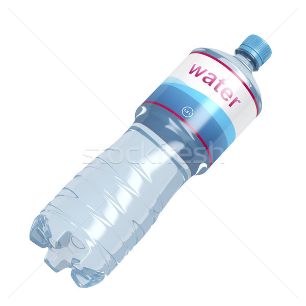 Water bottle on white Stock photo © magraphics