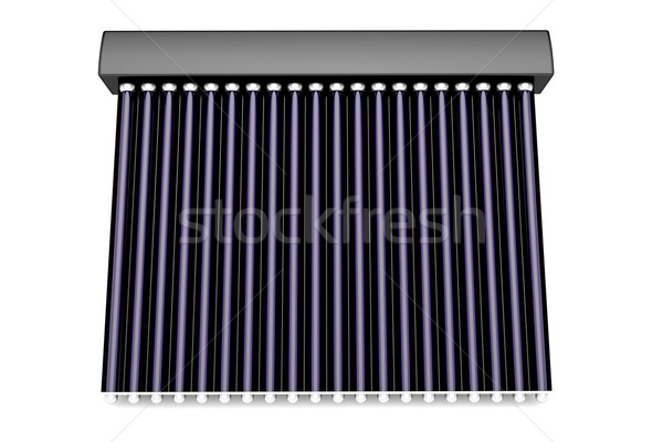 3d solar water heater Stock photo © magraphics