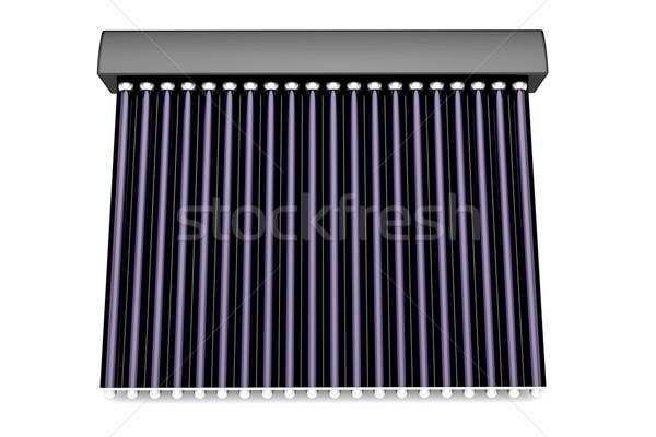 3D solar água aquecedor ver Foto stock © magraphics