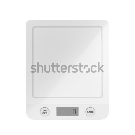 Kitchen scale Stock photo © magraphics