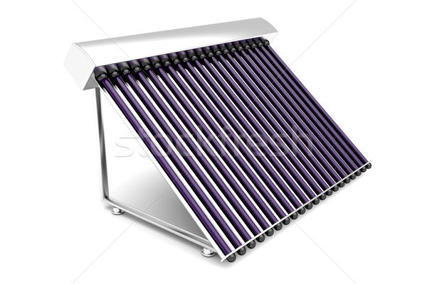 Solar water heater Stock photo © magraphics