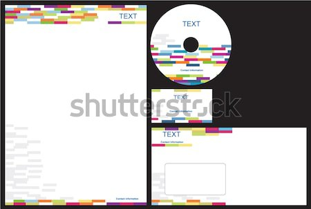 Corporate identity package Stock photo © magraphics