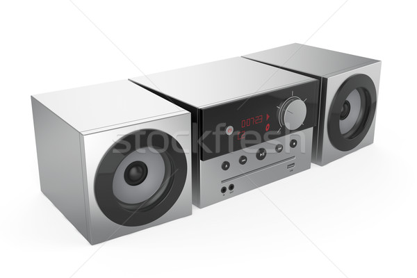 Stereo audio system Stock photo © magraphics