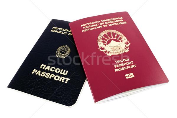 Passports Stock photo © magraphics