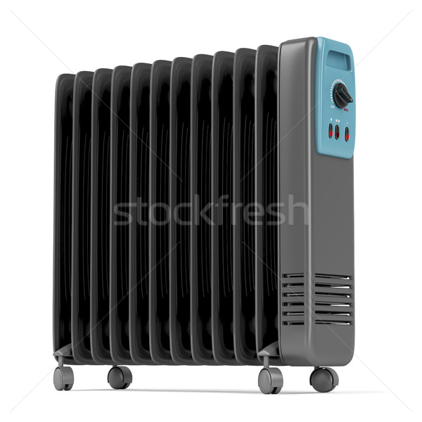 Electric oil heater Stock photo © magraphics