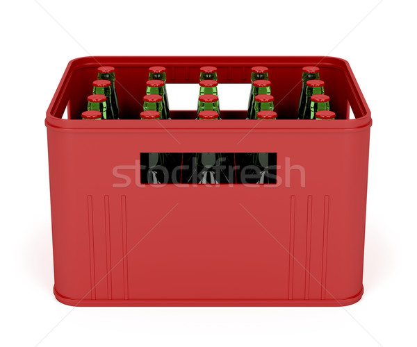 Beer crate Stock photo © magraphics