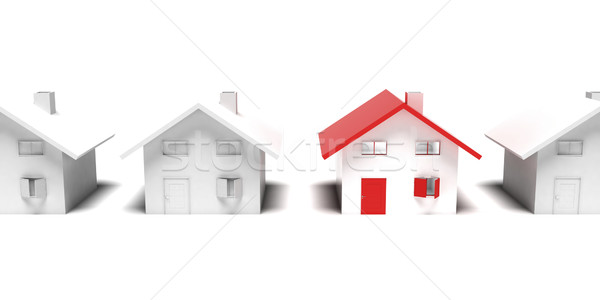 Unique house Stock photo © magraphics