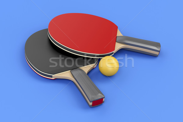 Ping pong equipment  Stock photo © magraphics