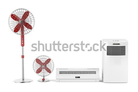 Convection and oil-filled heaters Stock photo © magraphics