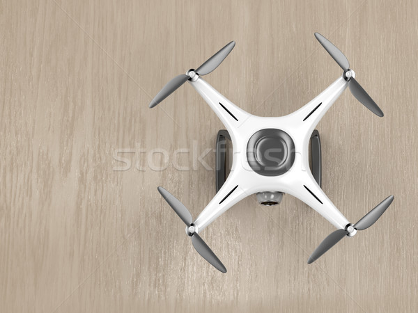 Drone, top view Stock photo © magraphics