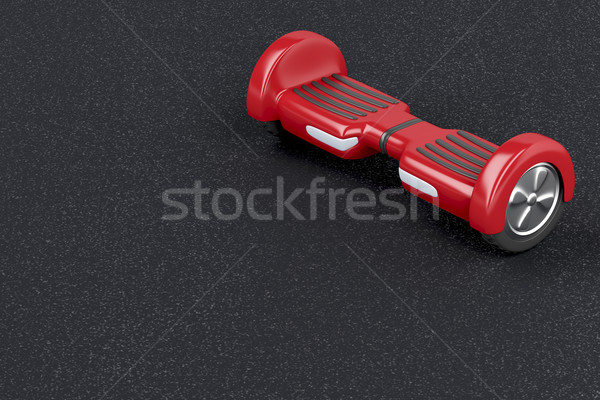 Red gyro scooter Stock photo © magraphics