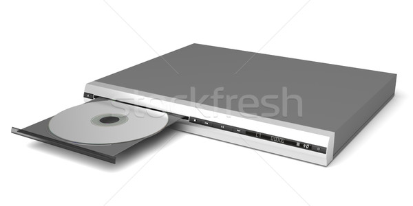 DVD player Stock photo © magraphics