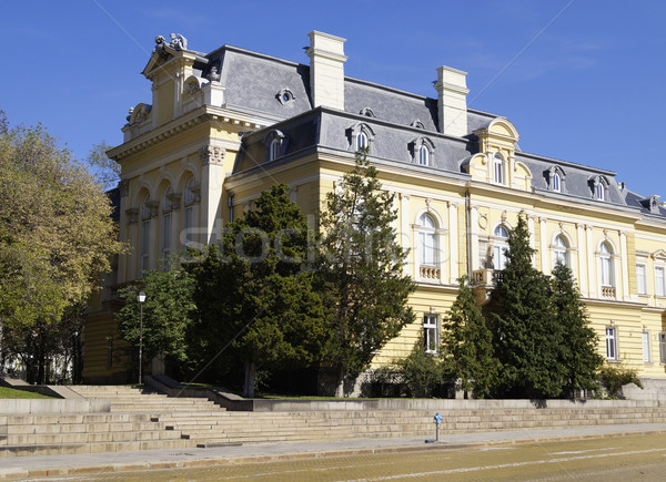 Művészeti galéria Szófia Bulgária művészet építészet Európa Stock fotó © magraphics