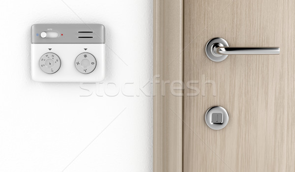 Modern thermostat Stock photo © magraphics