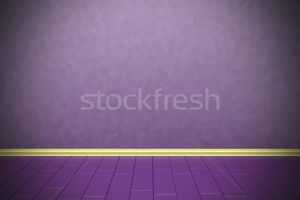 Empty purple wall Stock photo © magraphics