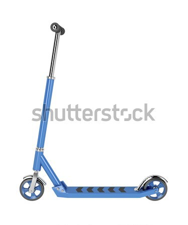 Kick scooter isolated on white  Stock photo © magraphics