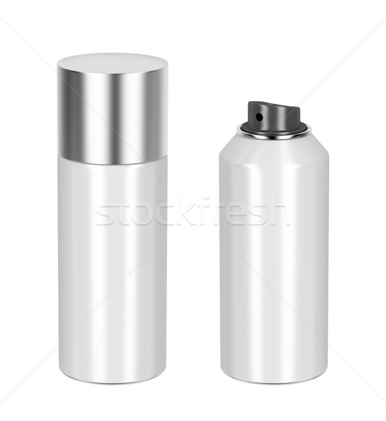 Blank aerosol cans Stock photo © magraphics