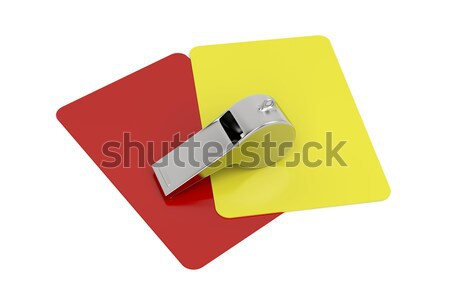Referee attributes Stock photo © magraphics