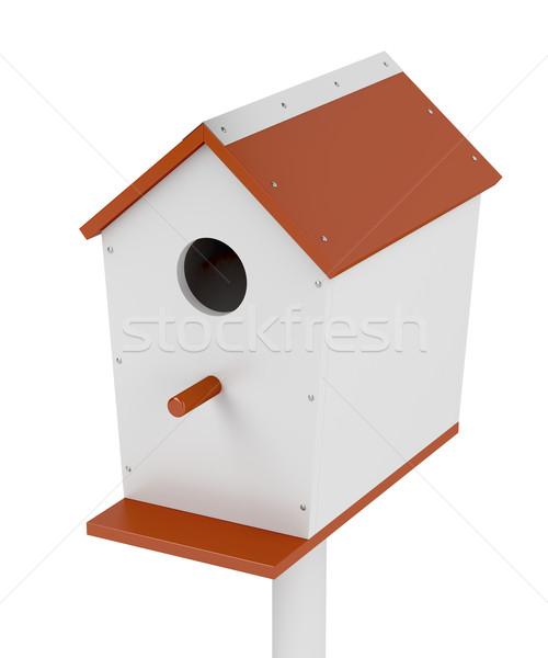 Birdhouse Stock photo © magraphics
