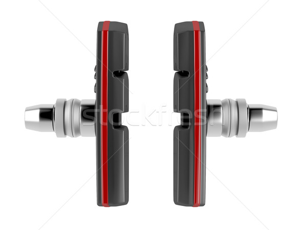 Brake pads for mountain bike Stock photo © magraphics