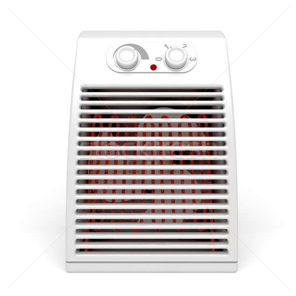 Electric heater Stock photo © magraphics