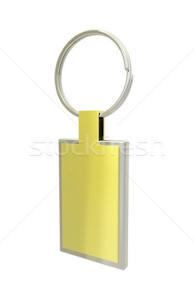 Golden key ring Stock photo © magraphics