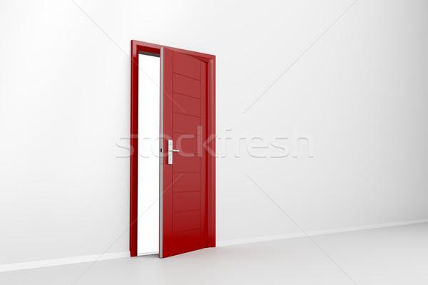 Red door Stock photo © magraphics