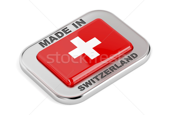 Made in Switzerland Stock photo © magraphics