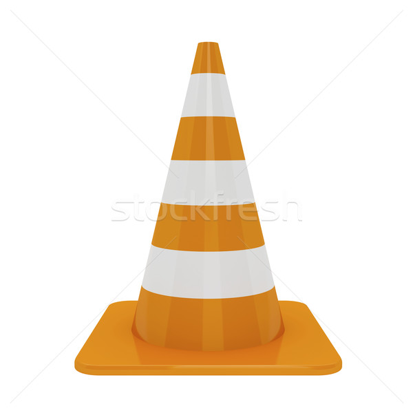 Traffic cone Stock photo © magraphics