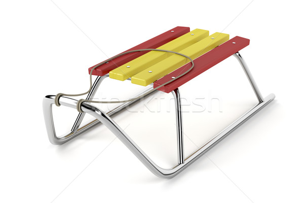 Metal sledge Stock photo © magraphics